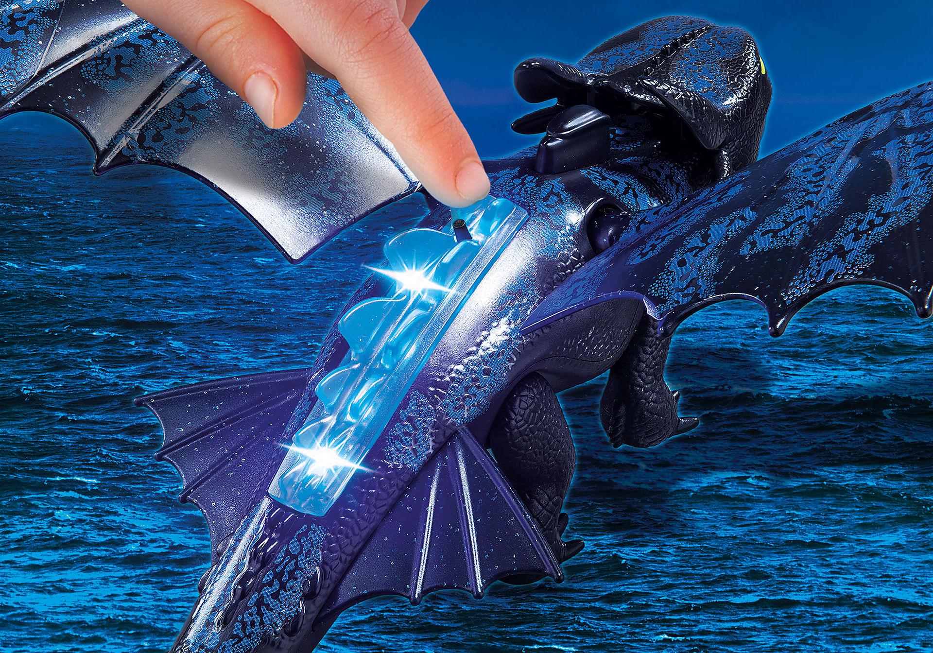 70037 Krokmou et Harold avec un bébé dragon zoom image5