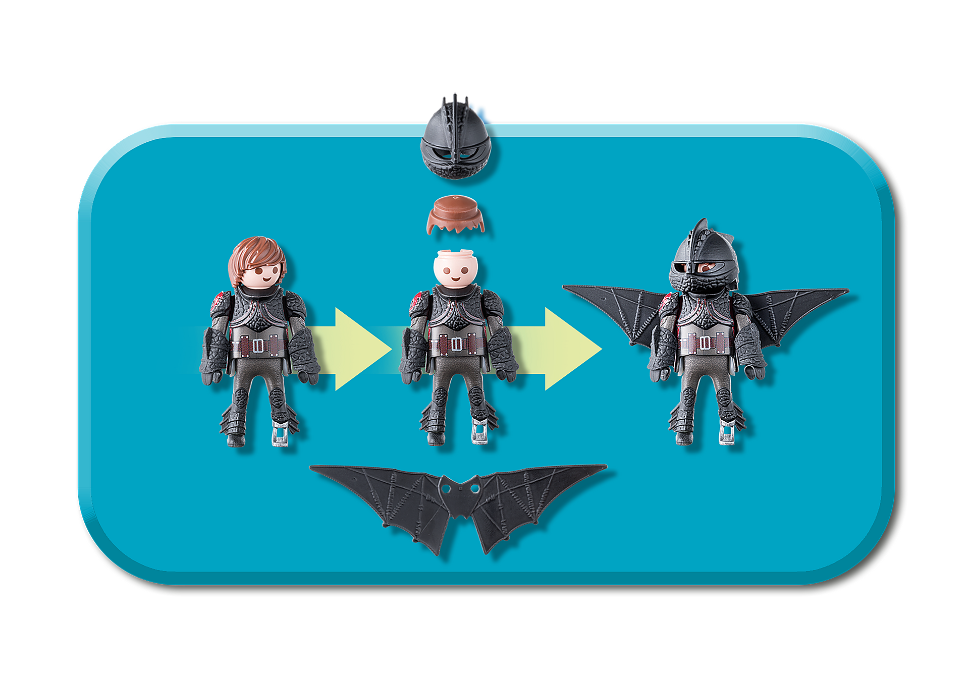 70037 Hiccup and Toothless Playset zoom image6