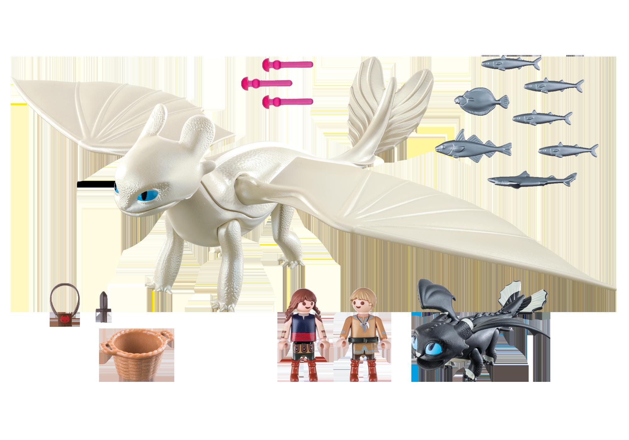 http://media.playmobil.com/i/playmobil/70038_product_box_back/Furie Éclair et bébé dragon avec les enfants
