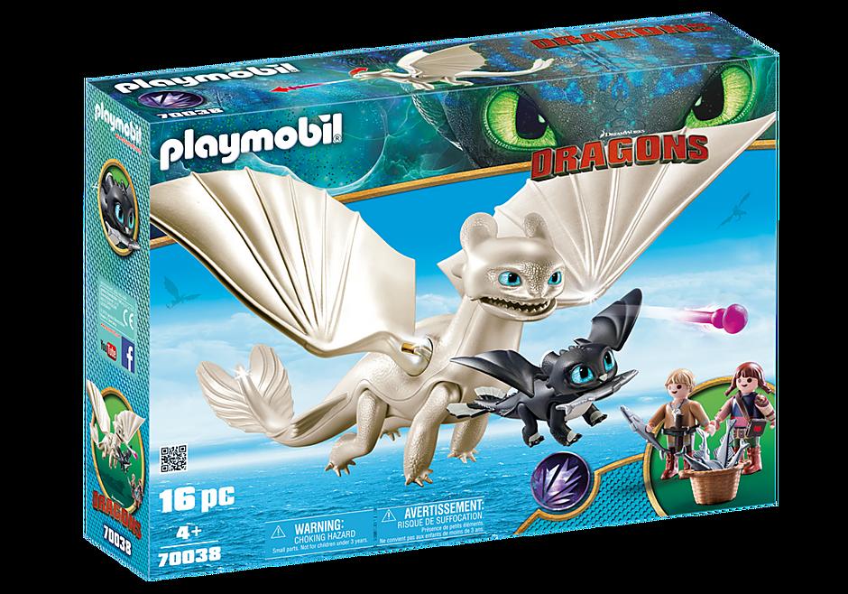 70038 Furie Éclair et bébé dragon avec les enfants detail image 2