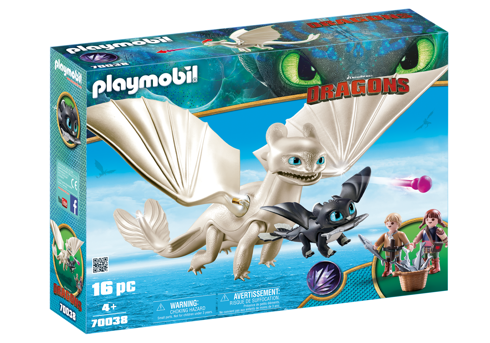 http://media.playmobil.com/i/playmobil/70038_product_box_front/Furie Éclair et bébé dragon avec les enfants