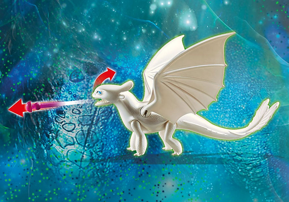 70038 Furia Diurna y bebé dragón con niños detail image 4