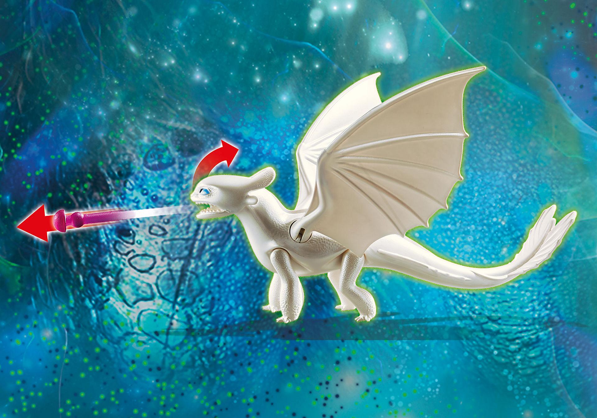 70038 Furia Diurna y bebé dragón con niños zoom image4