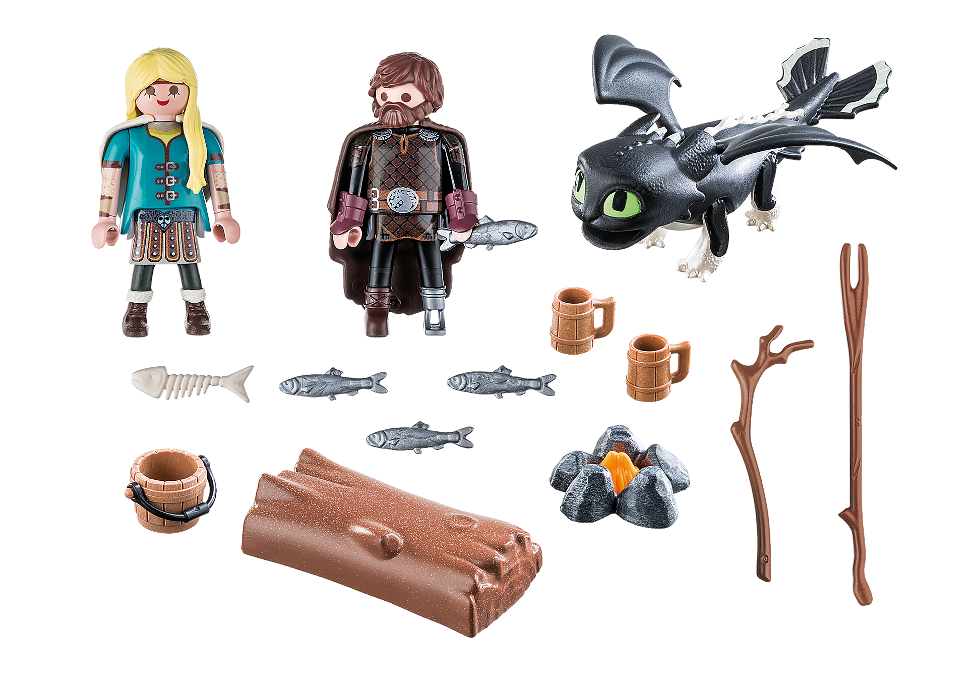 70040 Hiccup and Astrid Playset zoom image3
