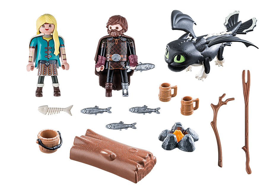 70040 Hiccup and Astrid Playset detail image 3