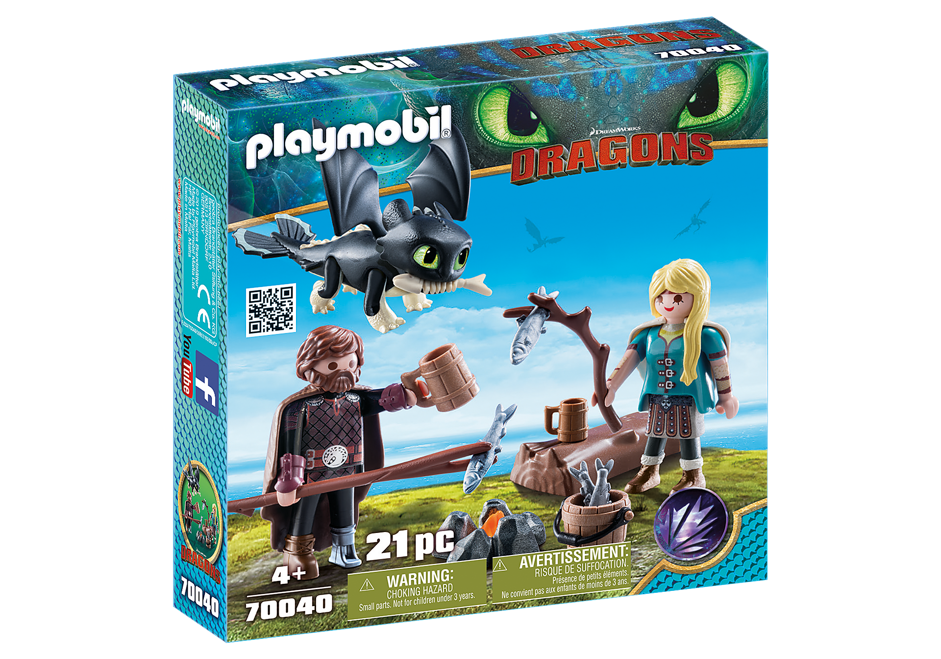 70040 Hiccup and Astrid Playset zoom image2