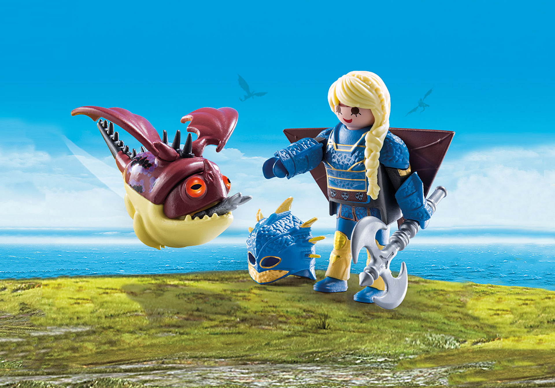 70041 Astrid with flight suit and Hobgobbler zoom image1