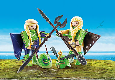 70042 Ruffnut and Tuffnut with Flight Suit
