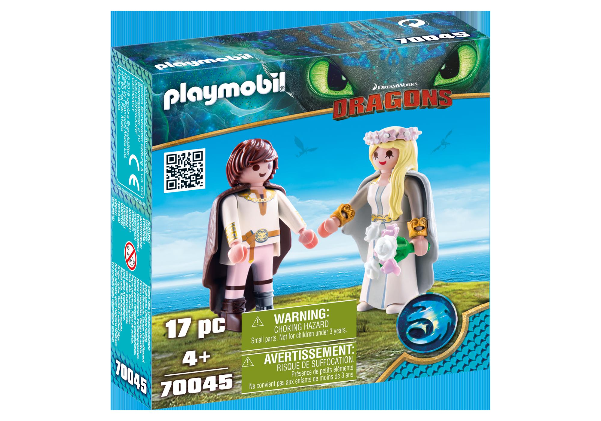 http://media.playmobil.com/i/playmobil/70045_product_box_front/Astrid et Harold en tenue de mariage