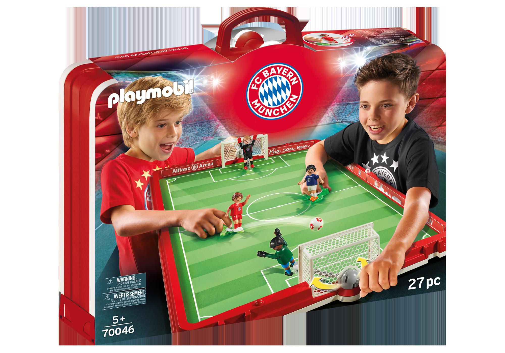 http://media.playmobil.com/i/playmobil/70046_product_box_front/FC Bayern München Fußballarena zum Mitnehmen