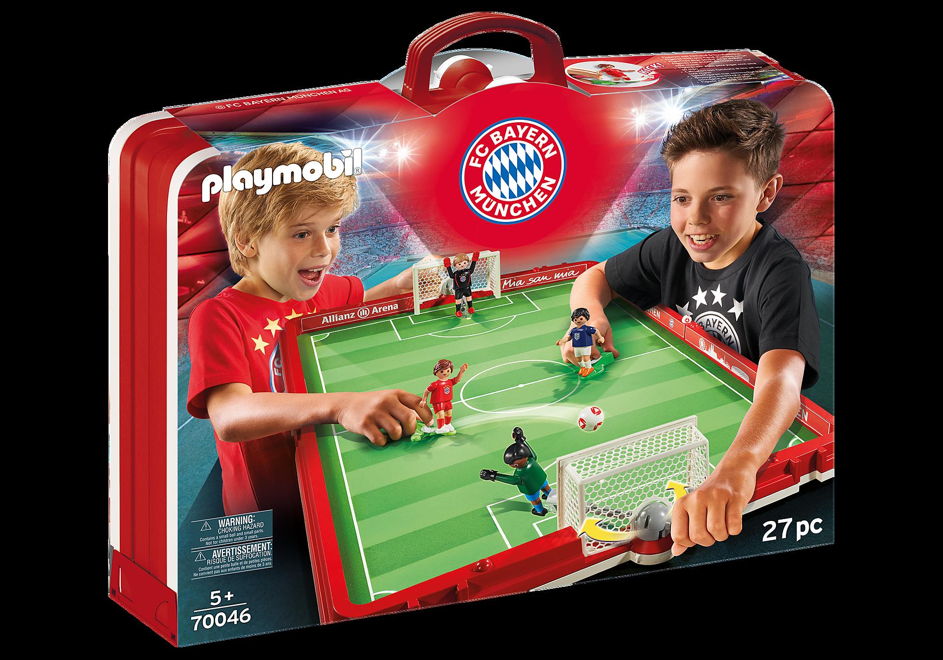 70046 Take Along FC Bayern Soccer Arena zoom image2