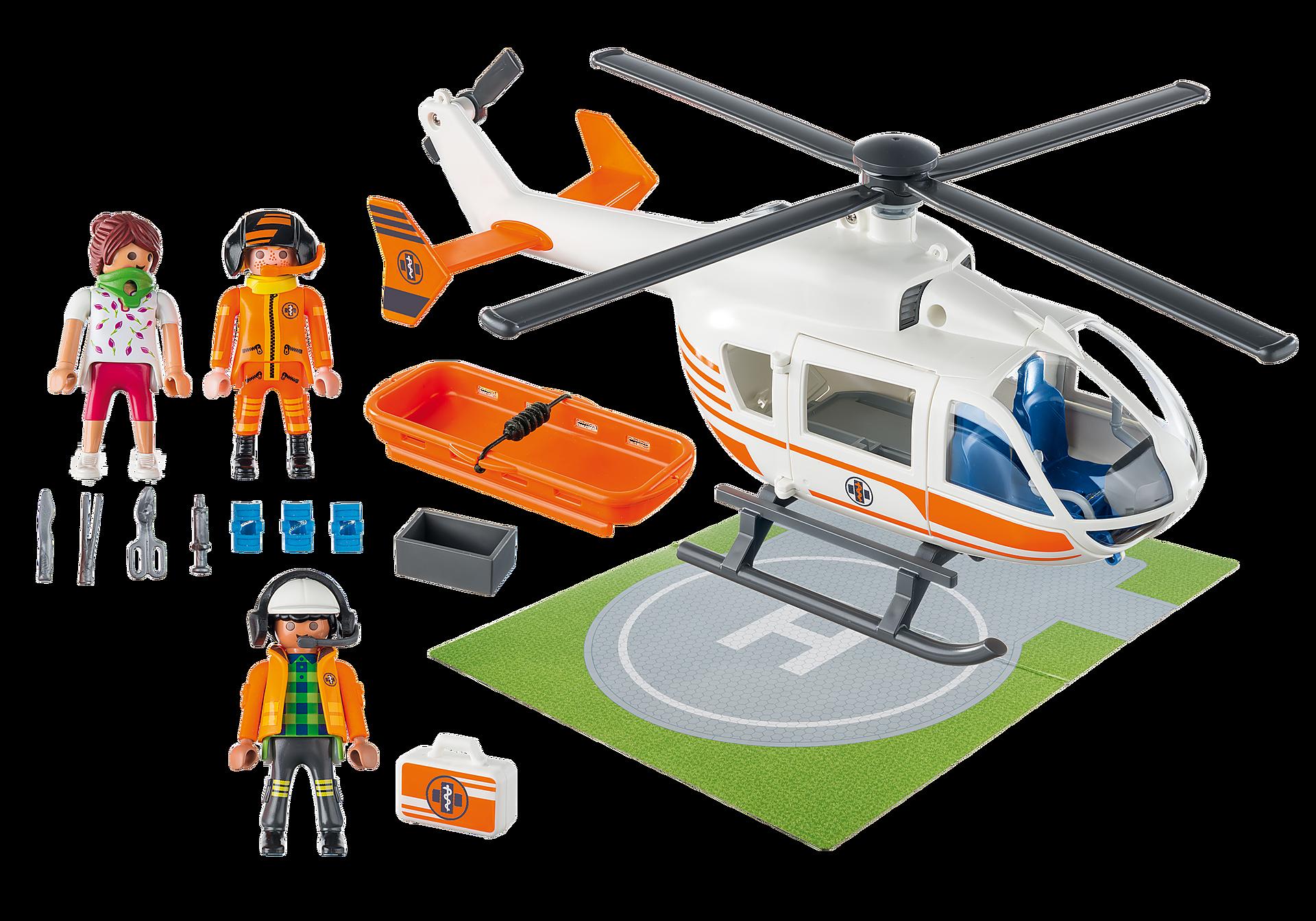 70048 Hélicoptère de secours zoom image3