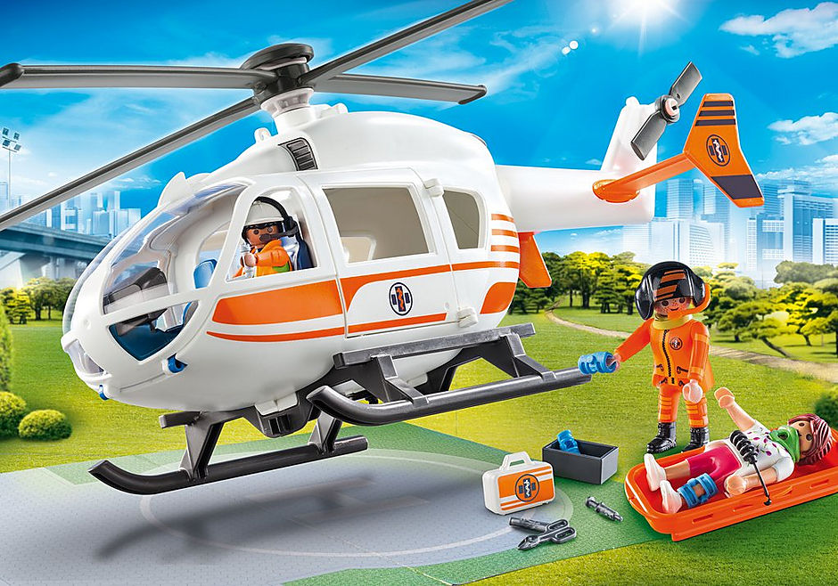 70048 Rescue Helicopter detail image 1