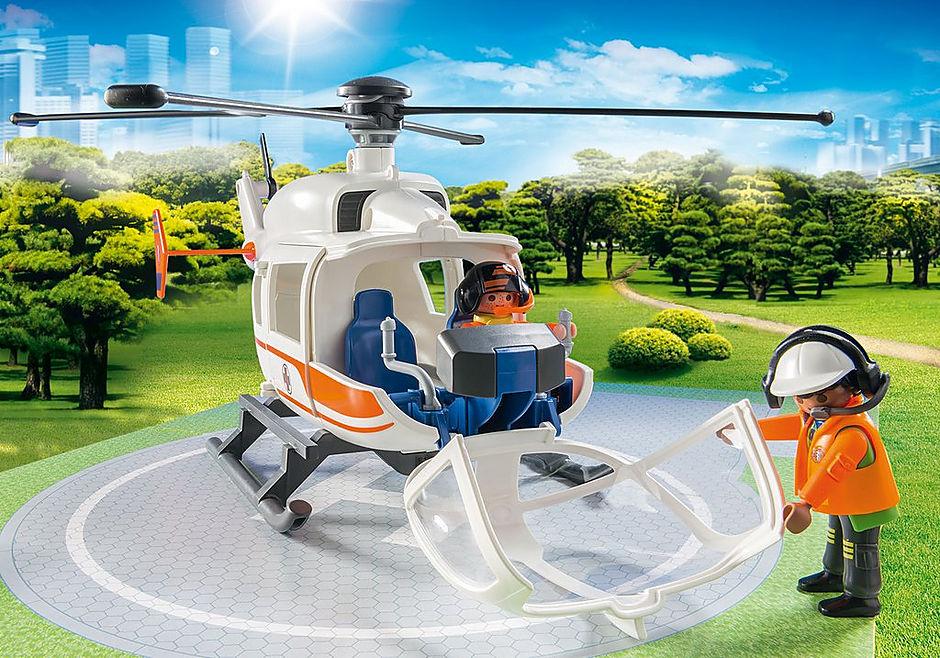 70048 Hélicoptère de secours detail image 4