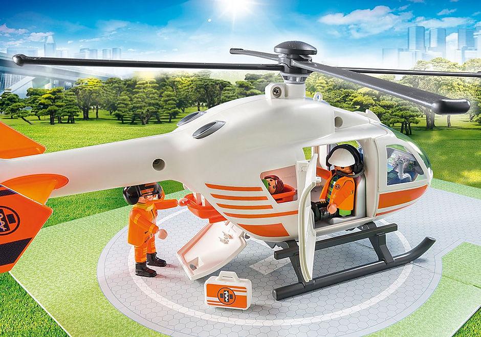 70048 Eerste hulp helikopter detail image 5