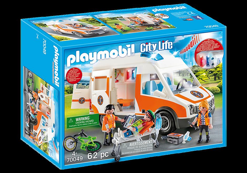 70049 Ambulancia con Luces detail image 2