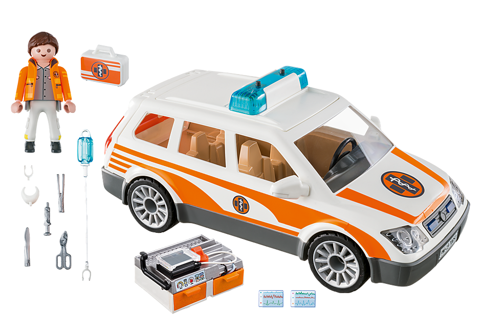 70050 Emergency Car with Siren detail image 3