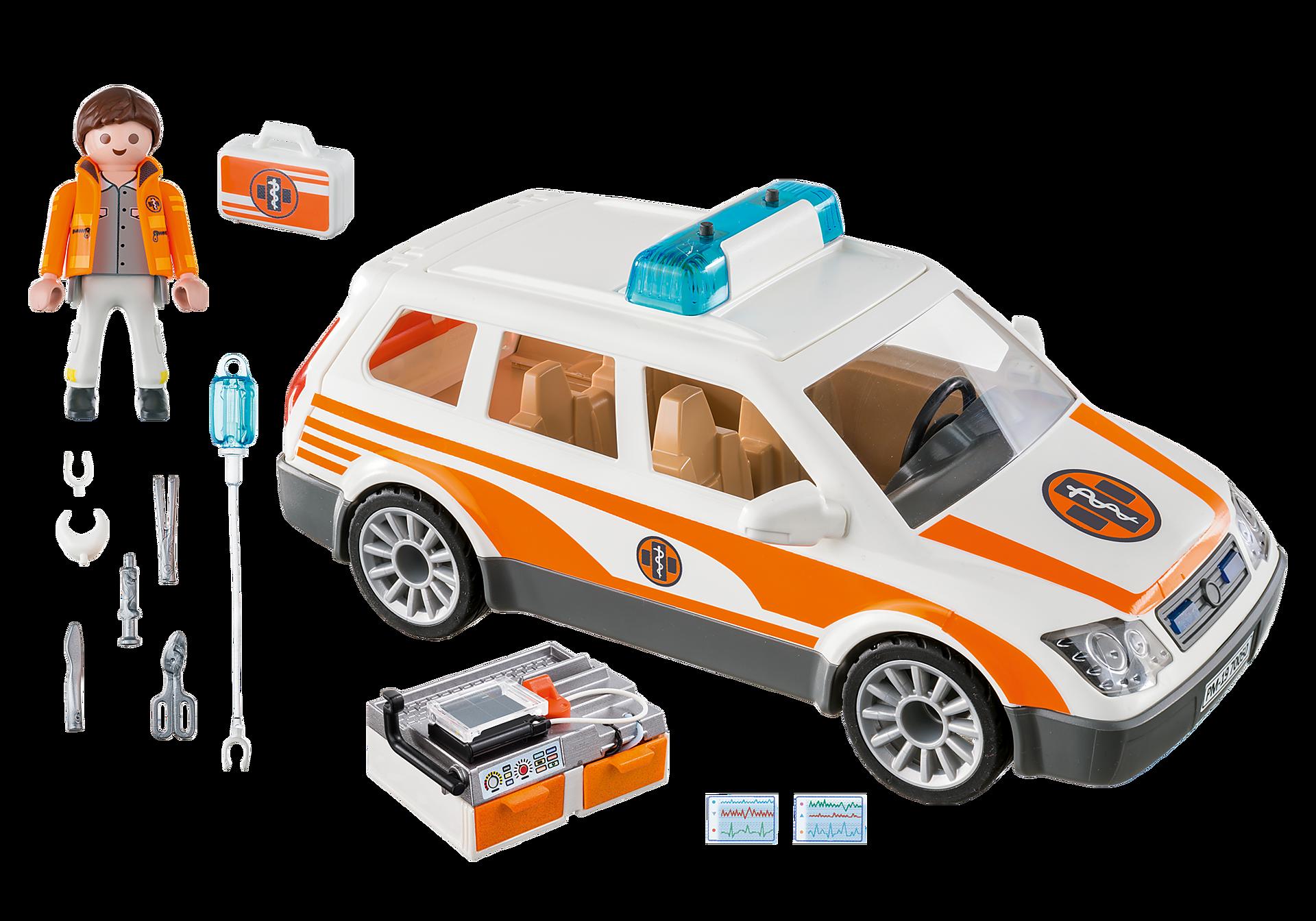 70050 Samochód ratowniczy ze światłem i dźwiękiem zoom image3