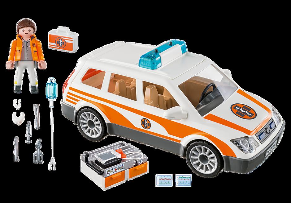 70050 Voiture et ambulanciers detail image 3