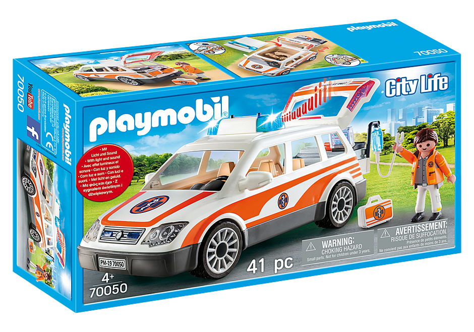 http://media.playmobil.com/i/playmobil/70050_product_box_front/Notarzt-PKW mit Licht und Sound
