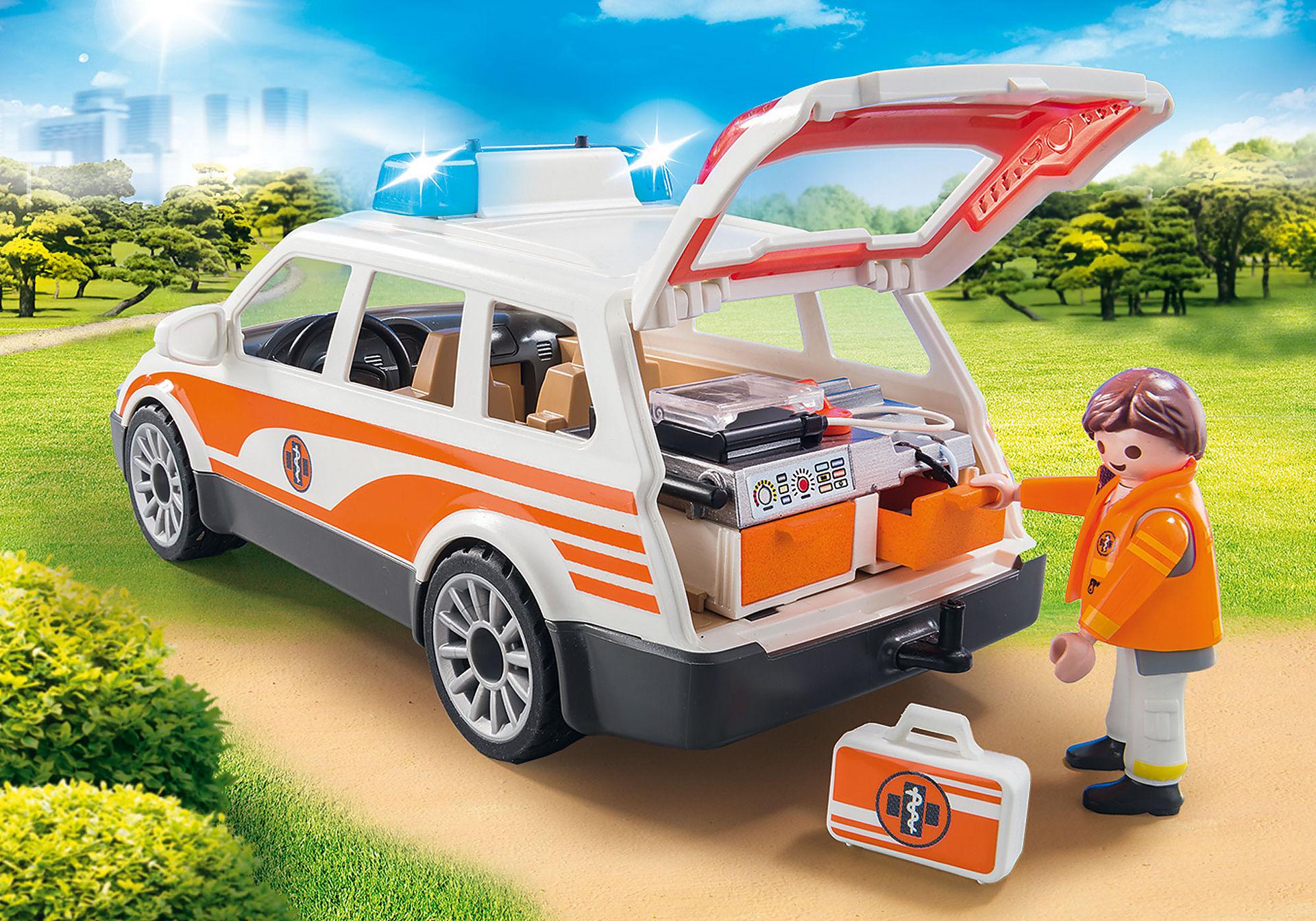 70050 Samochód ratowniczy ze światłem i dźwiękiem zoom image4