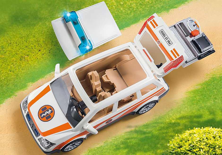 70050 Carro Médico de Emergência com luz e som detail image 5