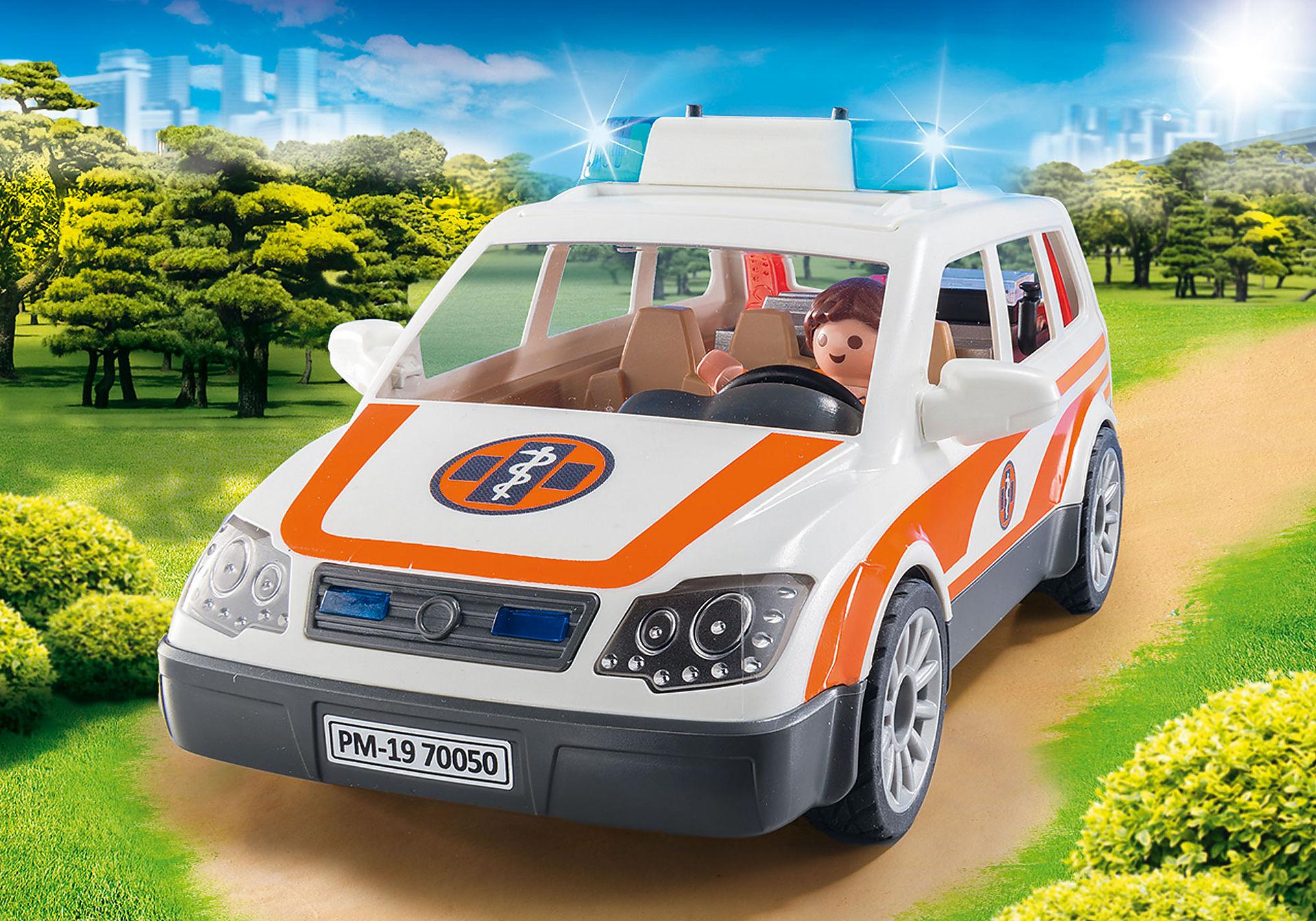 70050 Samochód ratowniczy ze światłem i dźwiękiem zoom image6