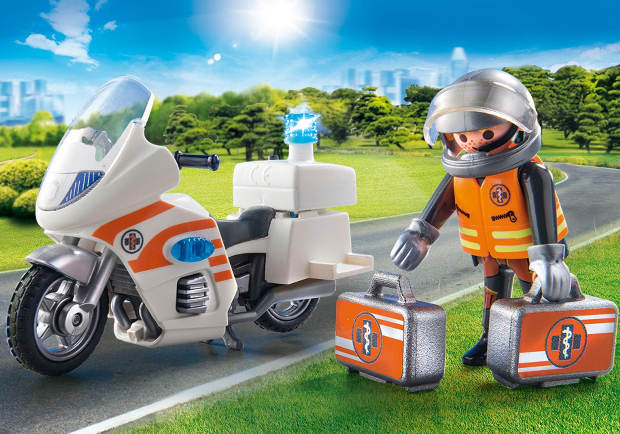 http://media.playmobil.com/i/playmobil/70051_product_extra1/Notarzt-Motorrad mit Blinklicht