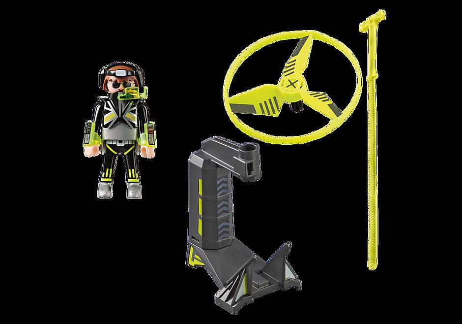 70055 Top Agent avec hélice volante detail image 4