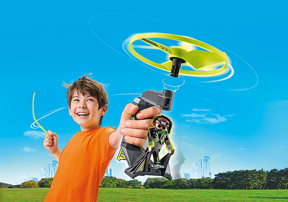 70055 Top Agent avec hélice volante detail image 1