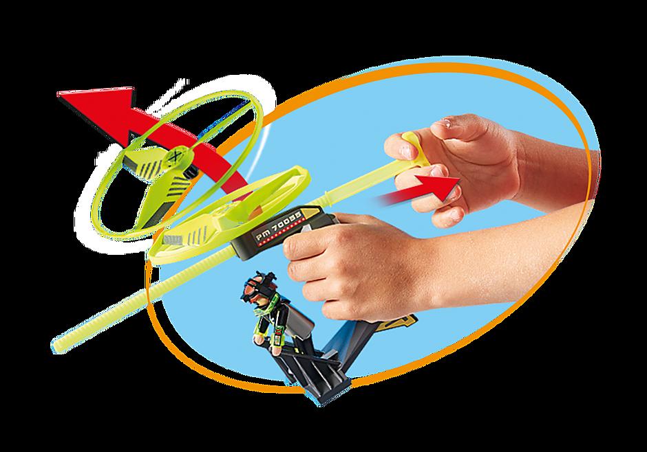 70055 Top Agent avec hélice volante detail image 5