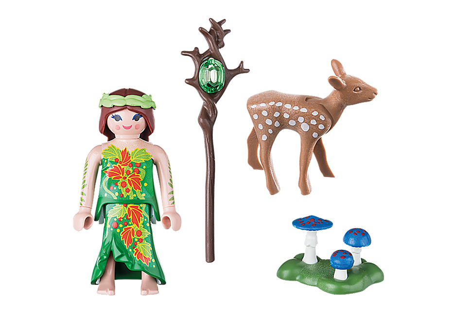 70059 Fairy with Deer detail image 3