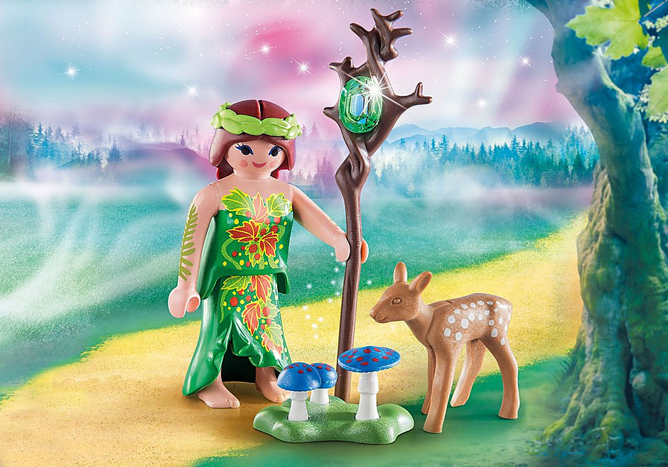 70059 Fairy with Deer detail image 1
