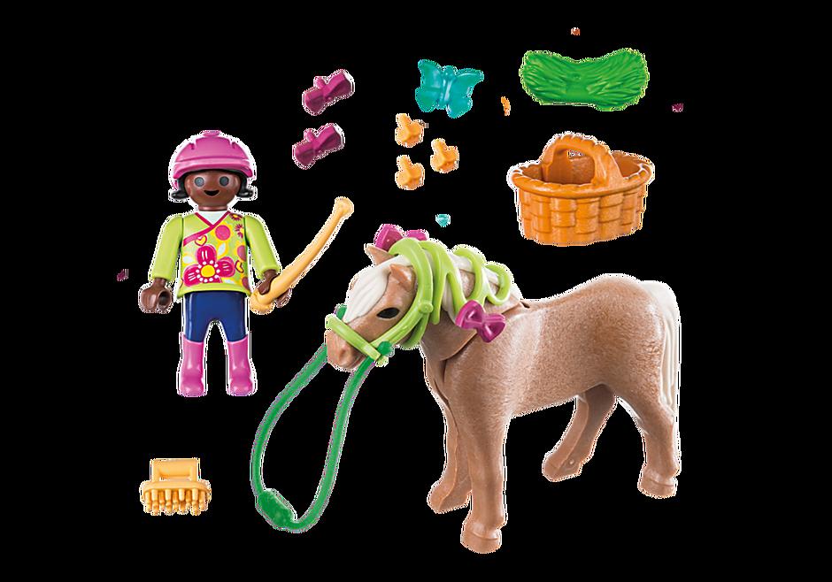 70060 Mädchen mit Pony detail image 3