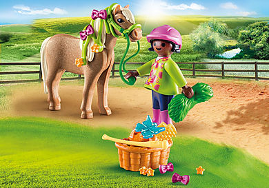 70060_product_detail/Flicka med ponny