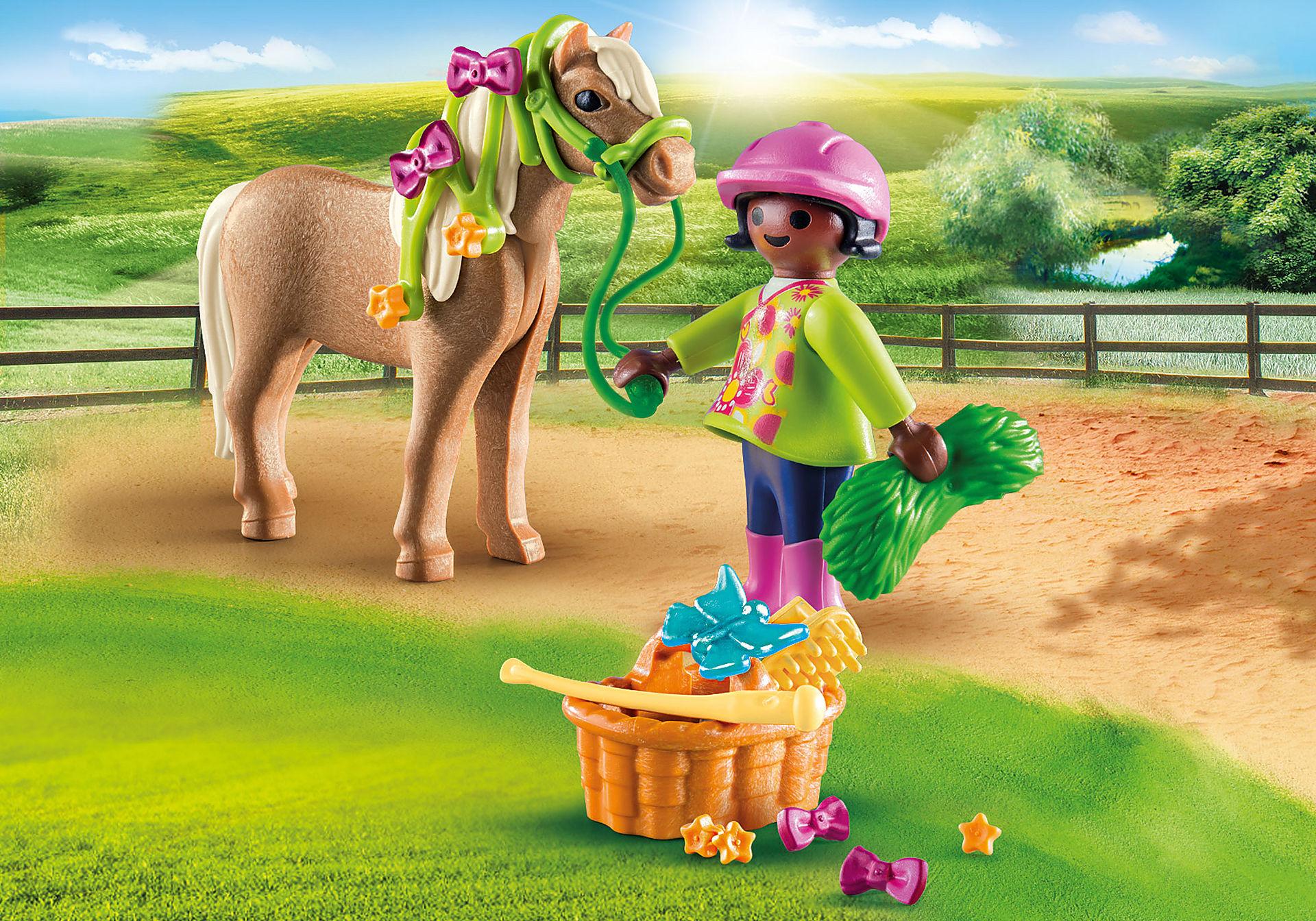 70060 Mädchen mit Pony zoom image1