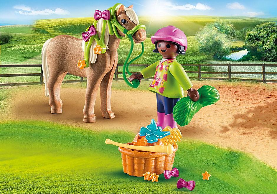 70060 Ragazza con pony detail image 1
