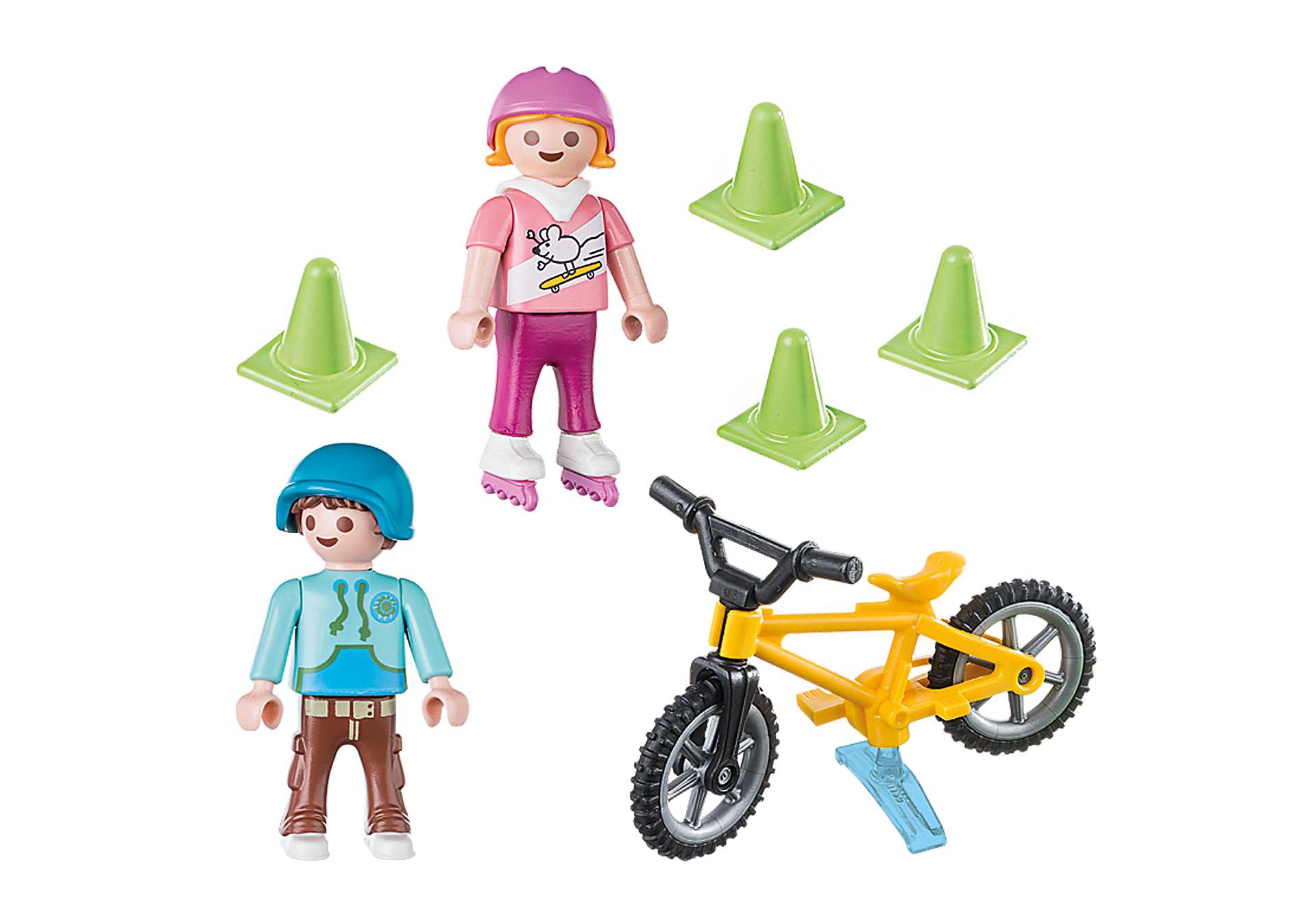 70061 Children with Skates and Bike zoom image3