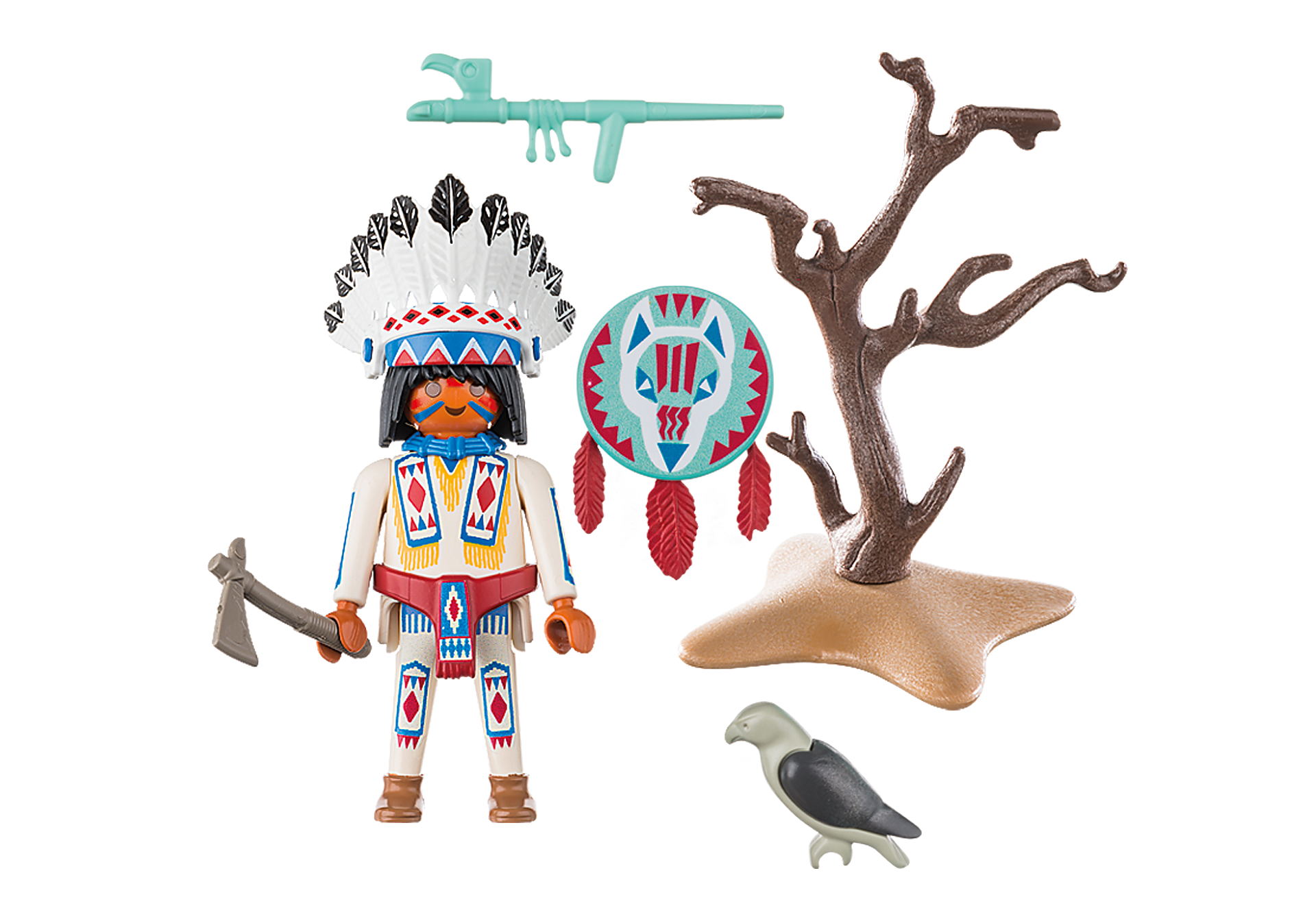 70062 Native American Chief zoom image3