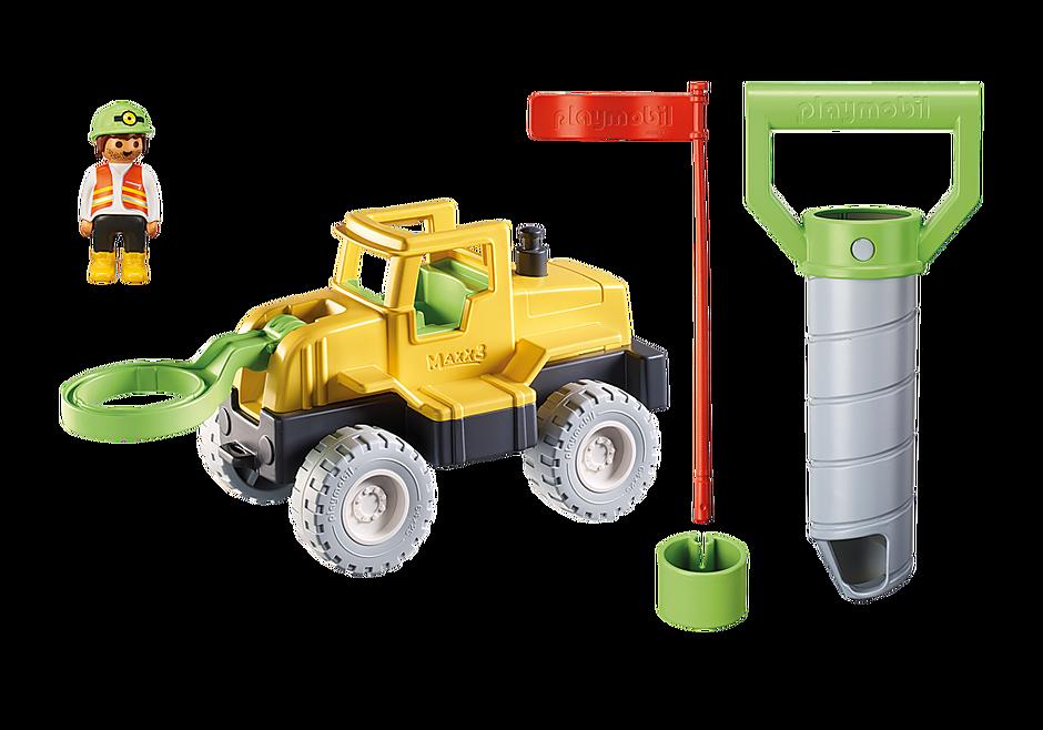 70064 Vrachtwagen met zandboor detail image 4