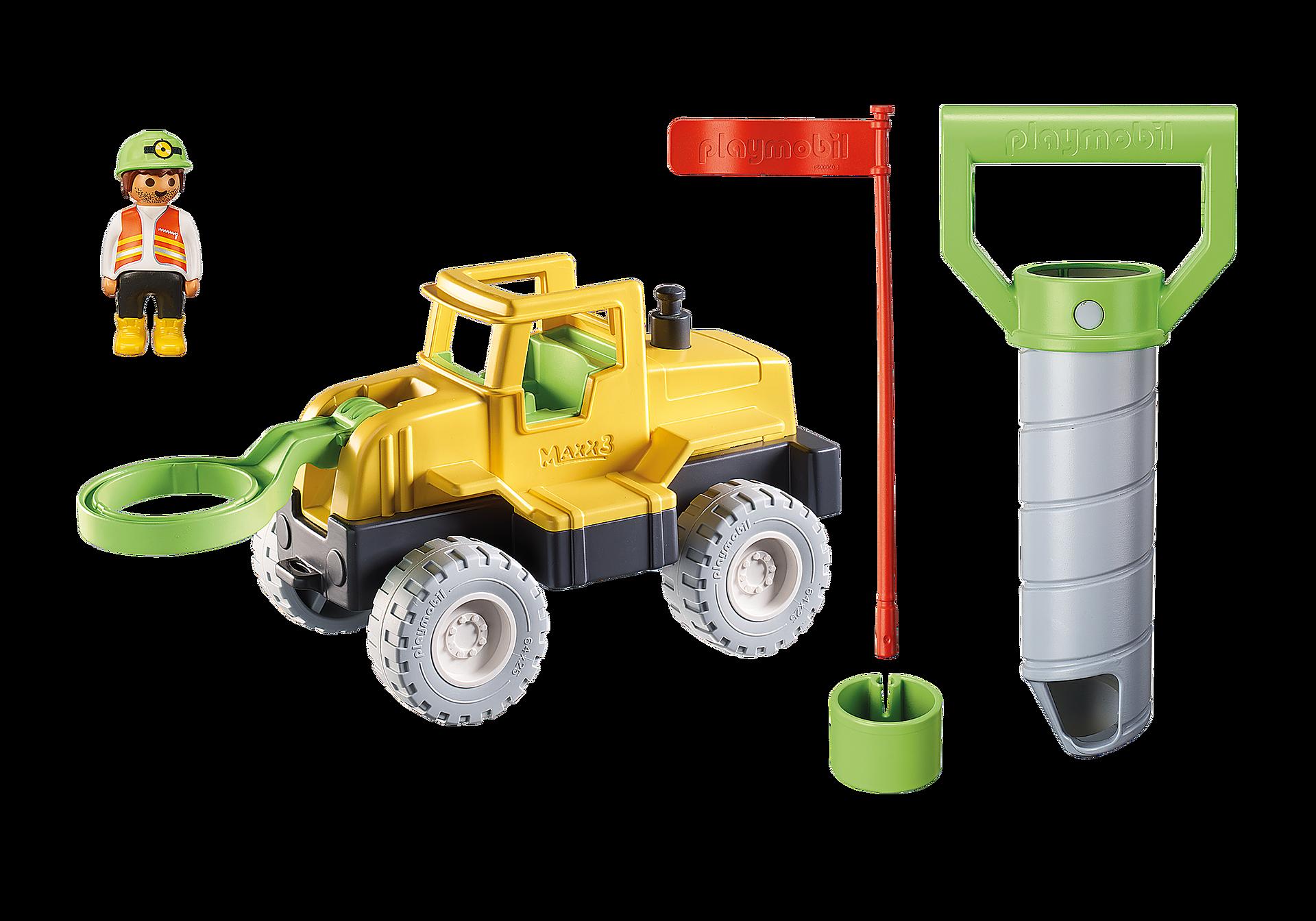 70064 Vrachtwagen met zandboor zoom image4