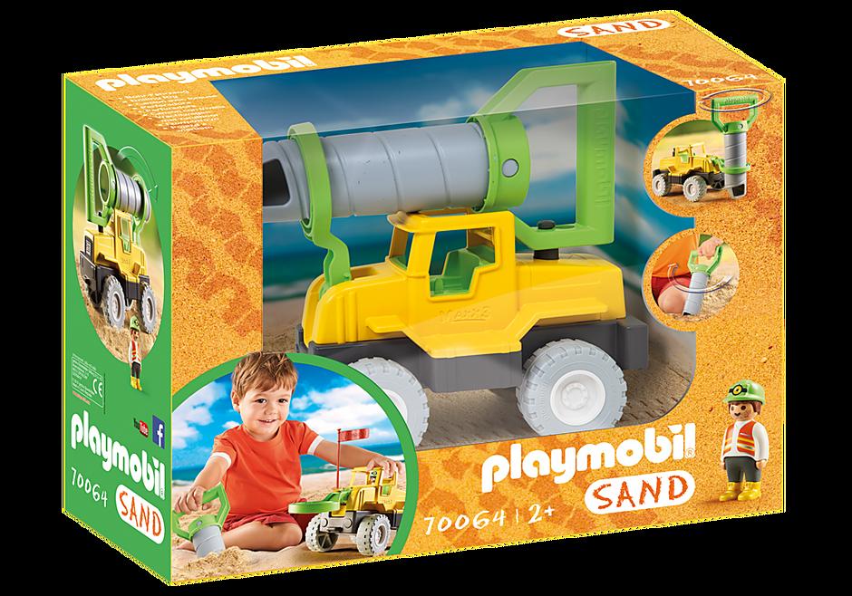 70064 Vrachtwagen met zandboor detail image 3