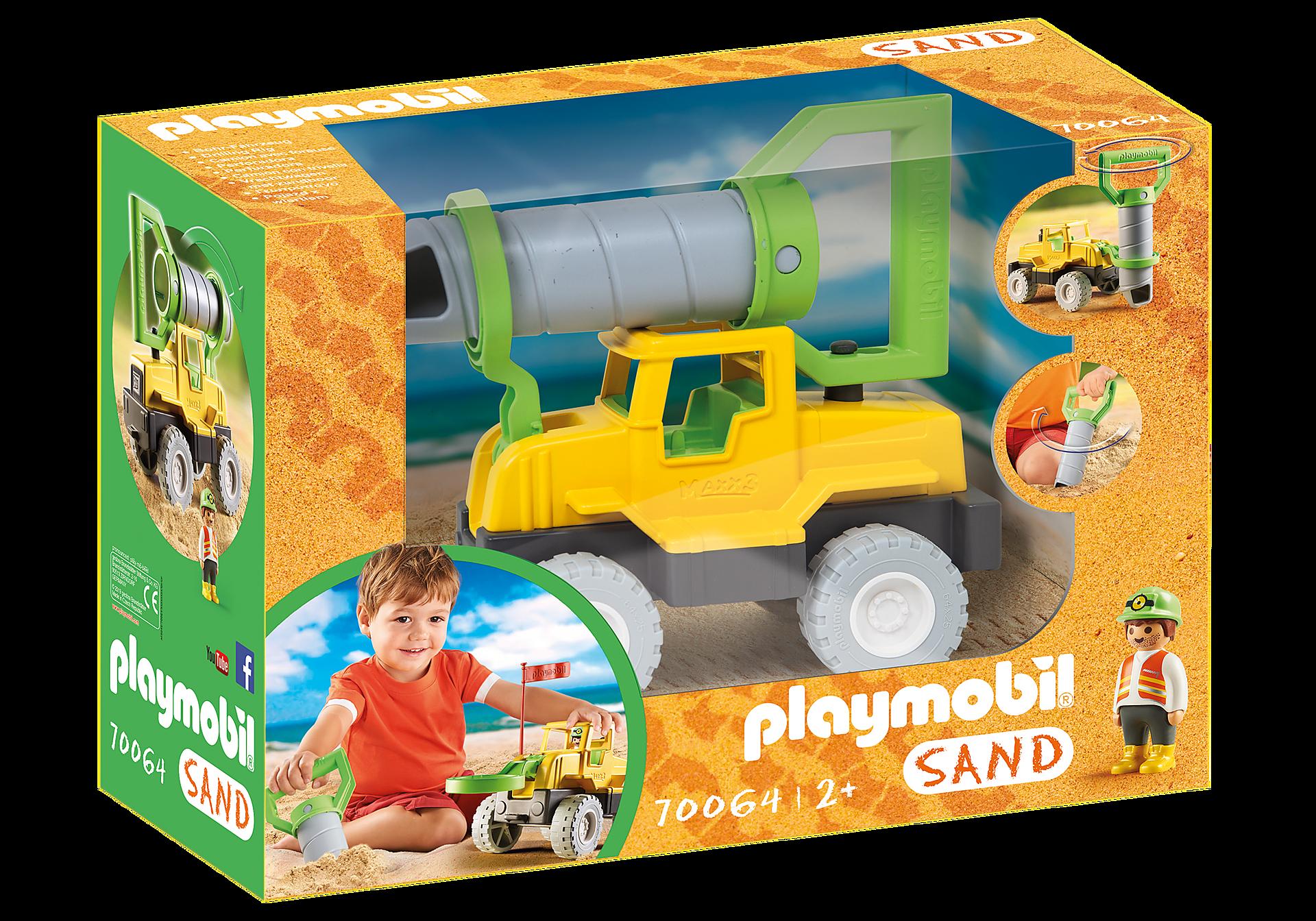 70064 Vrachtwagen met zandboor zoom image3