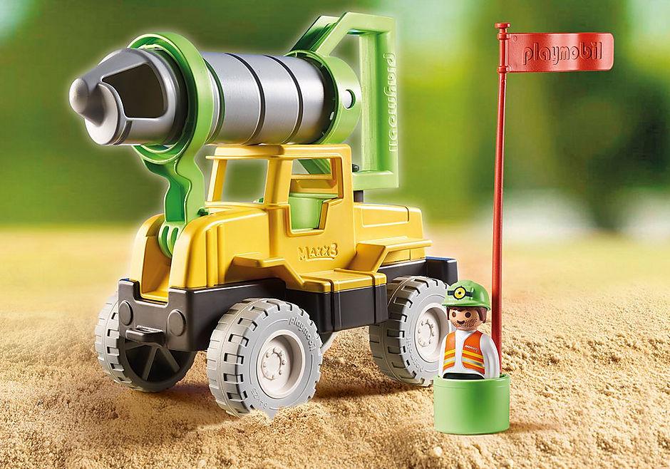 70064 Vrachtwagen met zandboor detail image 1