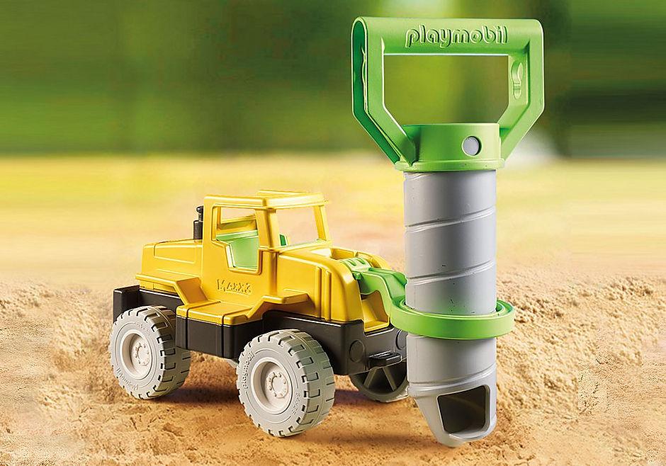 70064 Vrachtwagen met zandboor detail image 6