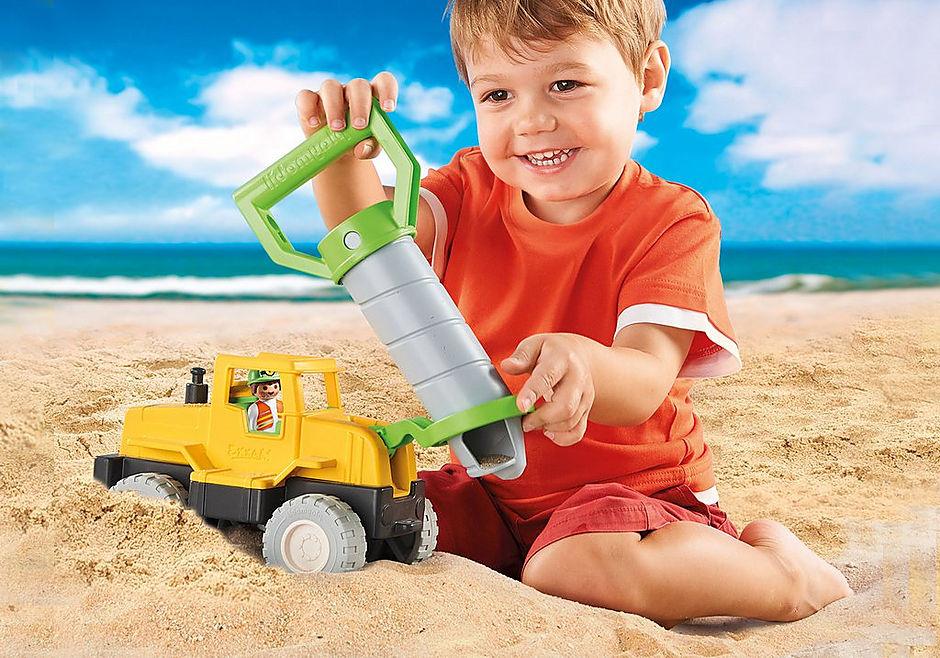 70064 Vrachtwagen met zandboor detail image 7