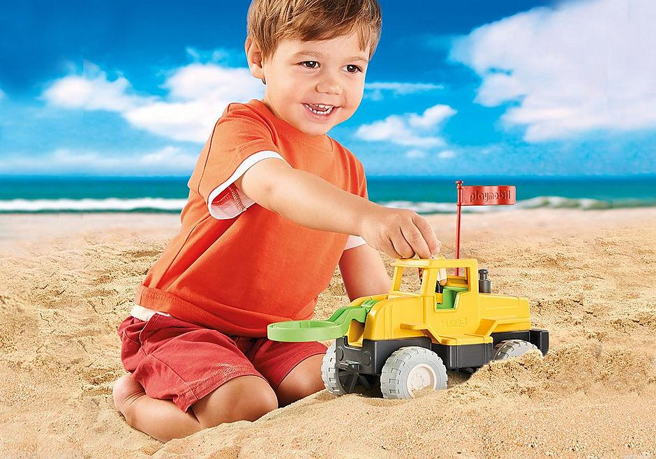 70064 Vrachtwagen met zandboor detail image 8
