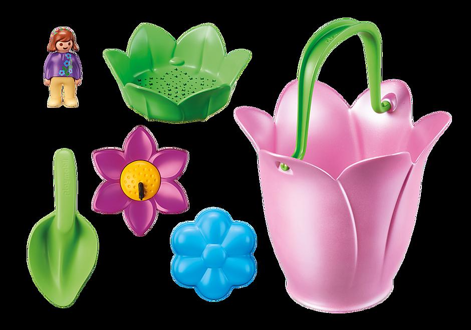 70065 Blomkorg med vårblommor detail image 4