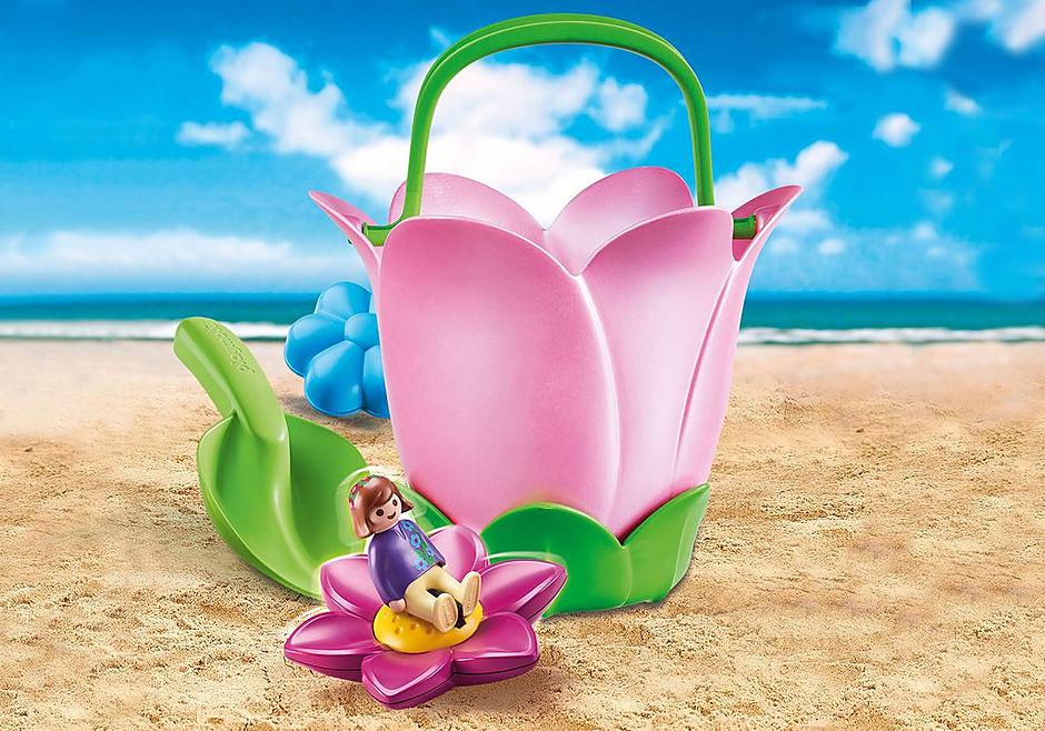 70065 Seau floral detail image 1