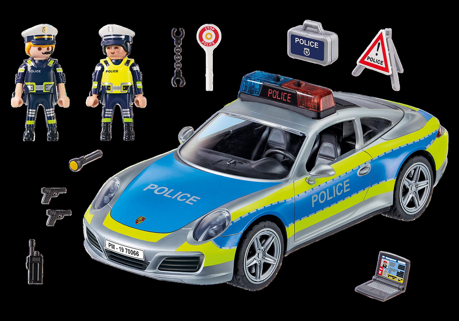 70066 Porsche 911 Carrera 4S Police - White zoom image3